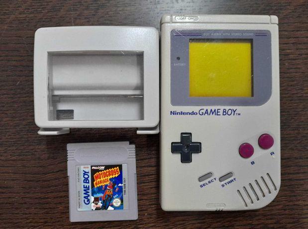 Game Boy DMG Classic + jogo + Lupa
