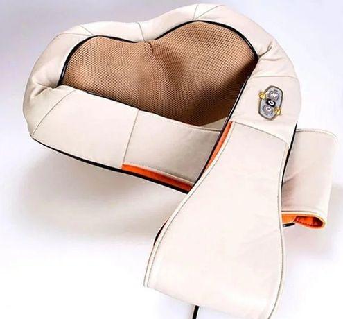 Удобный Роликовый массажер для спины и шеи Massager of neck kneading