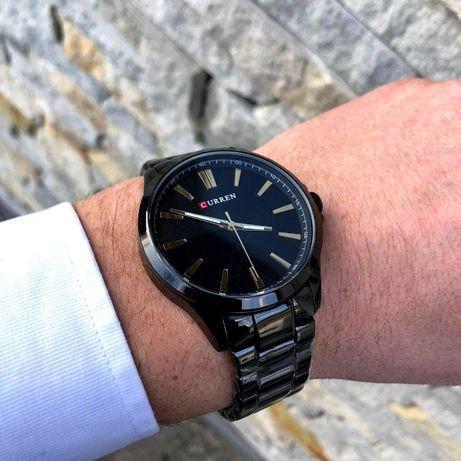 3 ЦВЕТА Кварцевые мужские наручные часы Curren ОРИГИНАЛ Лучший подаро