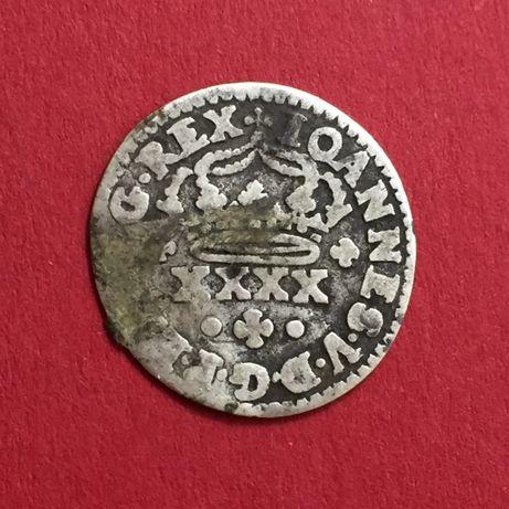 meio tostão (50 réis) D. João V ( 1706 : 1750 ) - prata