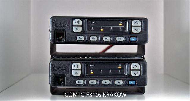 ICOM IC-F310s Radiotelefon Profesjonalny TAXI STRAŻ Ochrona VHF 25W