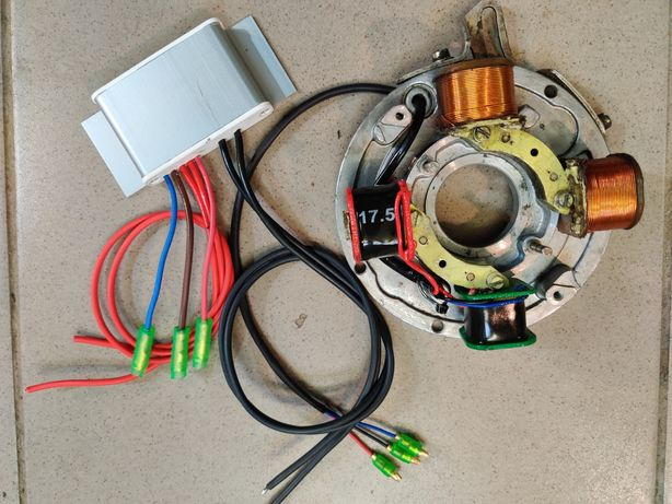 Электронное зажигание для лодочных моторов Вихрь, Нептун, Ветерок и д.