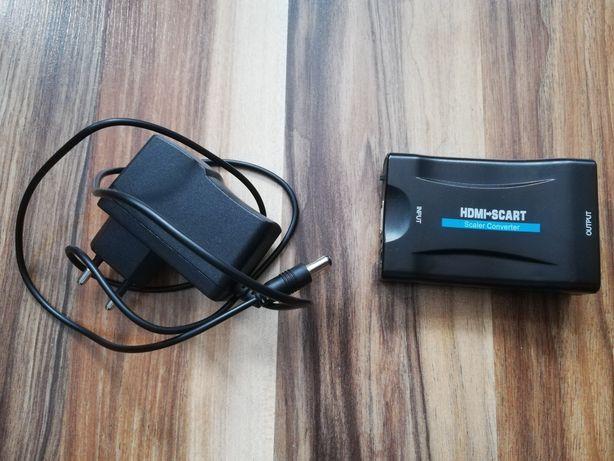 Konwerter przejściówka HDMI na SCART