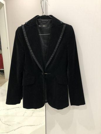 Велюровый пиджак Mango