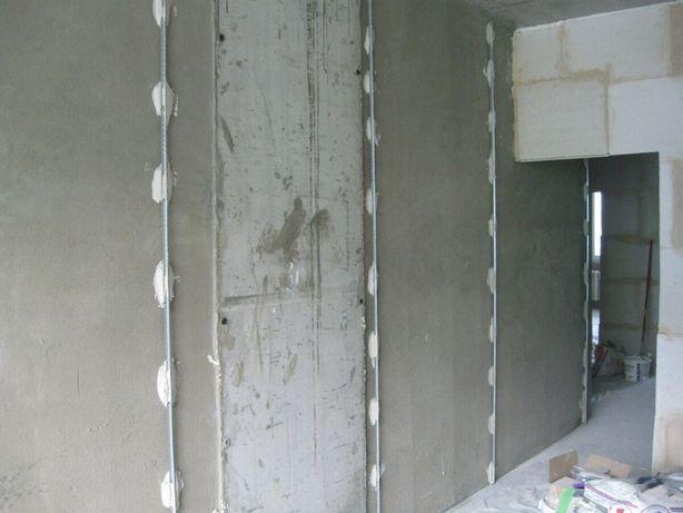 Внутренняя отделка (штукатурка, шпаклевка, гипсокартон), ремонт