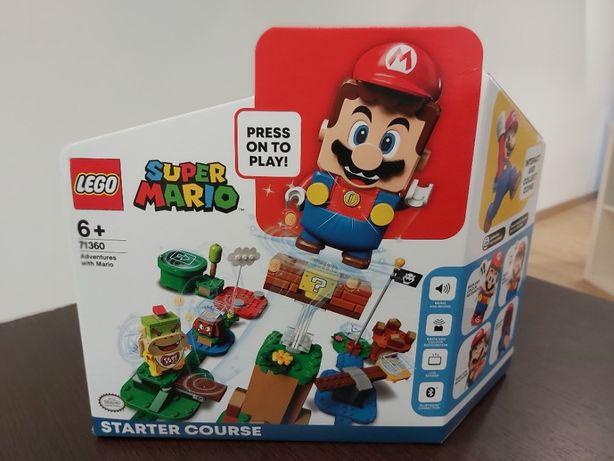 LEGO 71360 Adventures with Mario Starter Course - (NOVO E SELADO)