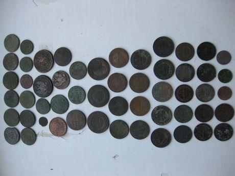 Царская Россия: 54 монеты, все разные без повторов - одним набором