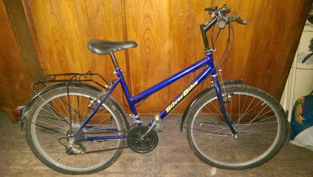 Rower Romet niebieski