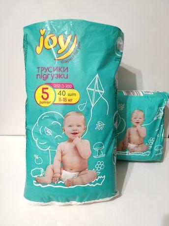 Трусики-подгузники Joy Run & Fun размер 5 (памперсы, Pampers, Da Da,)