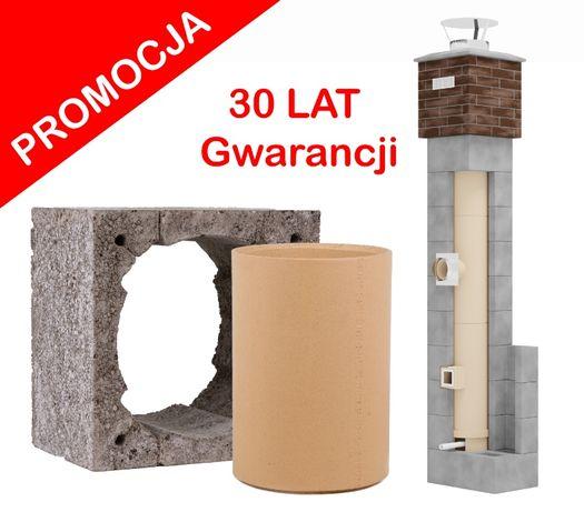 Komin systemowy ceramiczny wysokość 8m KW Fi 180 Standard