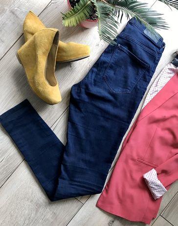 Jeansy high waist H&M