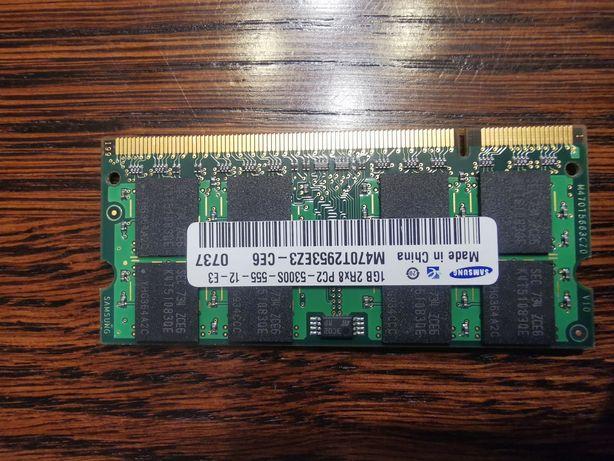 Pamięć RAM 1GB Samsung sprawna do laptopa
