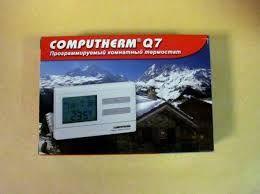 Цифровой комнатный программируемый термостат Computherm Q7 Венгрия
