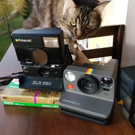 Polaroid 680 + now i-type