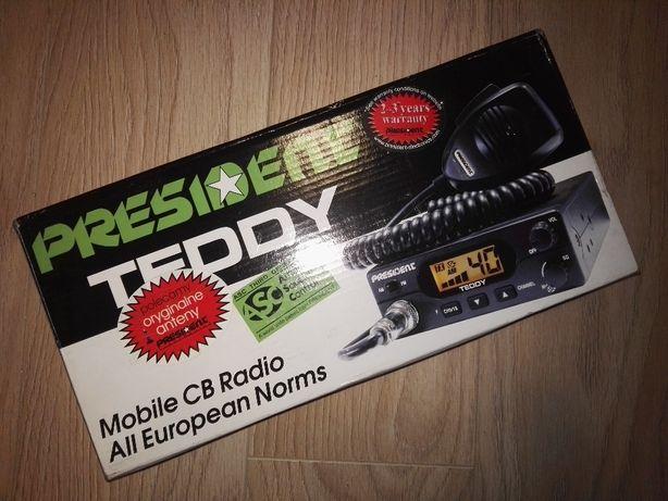Witam, oferuje w sprzedazy fabrycznie nowe CB Radio firmy PRESIDENT