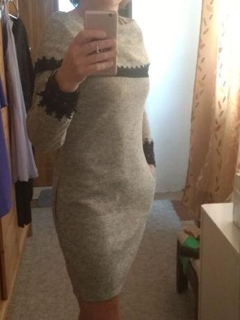 Sukienka szara rozmiar M