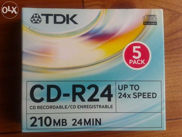 Pack 3 Mini CD TDK CD-R24 - 210 Mb