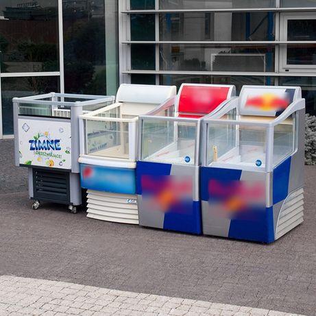 Witryny chłodnicze do sprzedaży impulsowej różne marki, wymiary