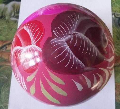 Огромный шар ручной работы на большую ёлку