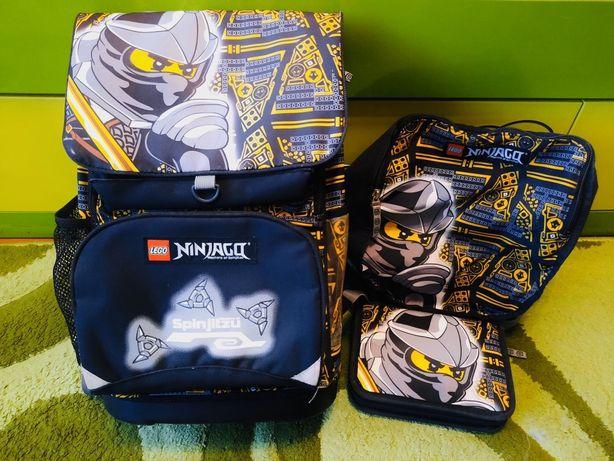 Рюкзак школьный Lego Ninjago Cole 22 л с сумкой и пеналом
