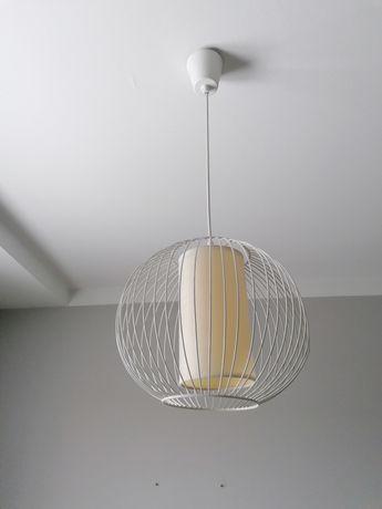 Lampa wisząca biała