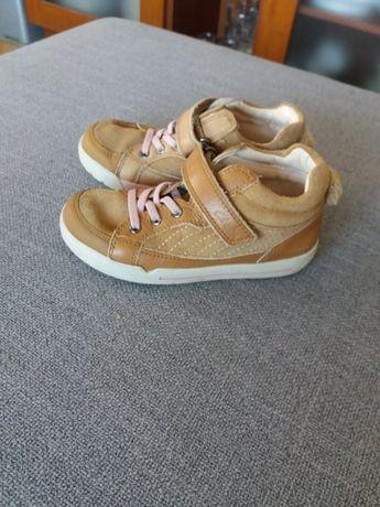 Clarks buciki buty skorzane kroliczek UK 9,5, R 27 jak nowe jesien