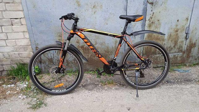 """Велосипед Titan Solar 19"""" black-orange-yellow (26TWAL19-328) 2020"""