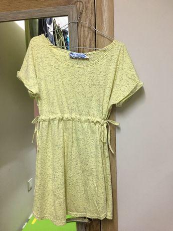 Платье-футболка, туника для беременных