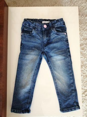 Spodnie dla dziewczynki Jeansy 92 Sinsay jak nowe