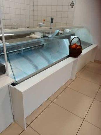 Lada chłodnicza stół chłodniczy krajalnica zamrażarki waga