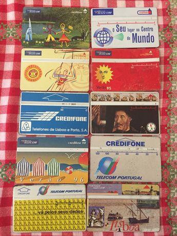 Credifones cartões telefonicos