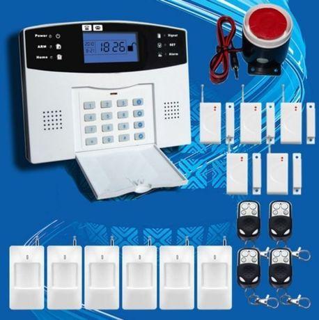 Простая Беспроводная GSM сигнализация для каждого дома, офиса, гараж