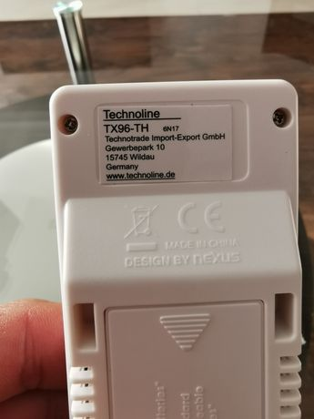 Czujnik temp Technoline TX 96-TH, stacja pogodowa