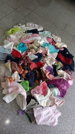 Lotes recheados roupa p despachar 0/2 anos