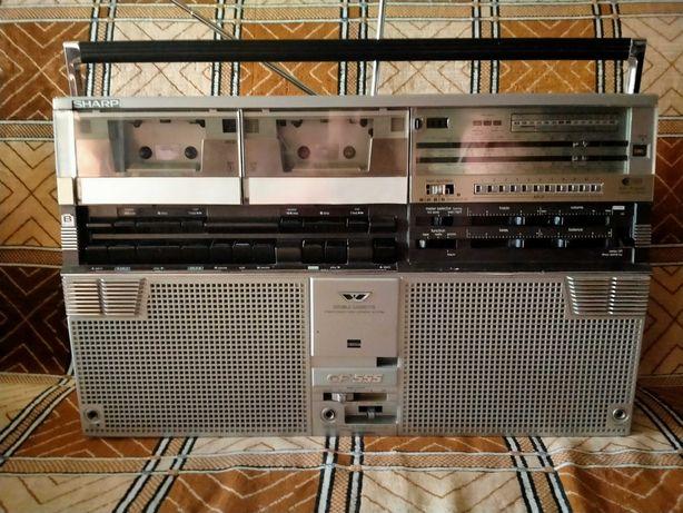 Магнитофон кассетный SHARP GF-555