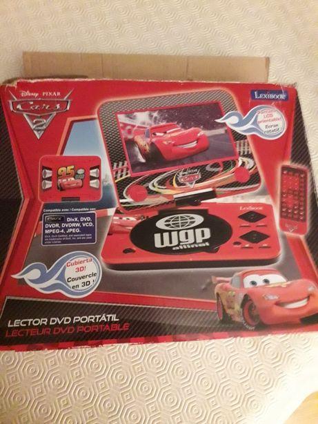 Leitor DVD portatil CARS