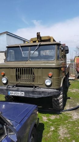 Буровая,ГАЗ 66