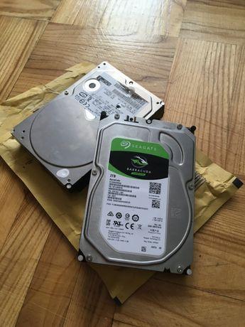 Жесткие диски на 2-TB (SEAGATE) и 200-GB (HITACHI)