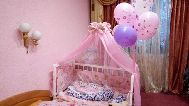 Продам постельное, матрас, балдахин, кровать