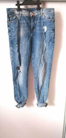 Jeansy spodnie z dziurami ASOS