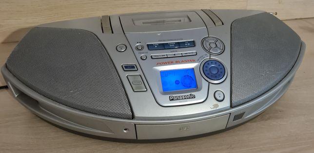 Radiomagnetofon kasetowy z odtwarzaczem CD marki PANASONIC RX-ES27-