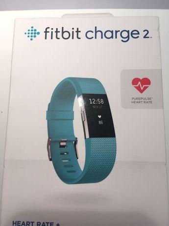 Nowa opaska smartband zegarek Fitbit Charge 2 rozmiar L/G