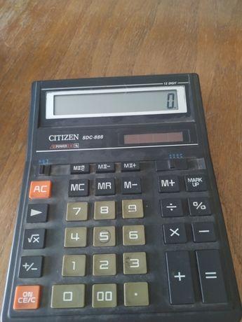 Kalkulator Citizen dziala