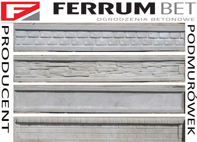 podmurówki betonowe ogrodzeniowe podmurówka płyty pod panele ferrumbet