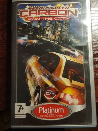 Need for Speed/Carbon own the city/ PSP