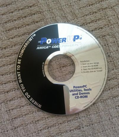 Amiga płyta PPC