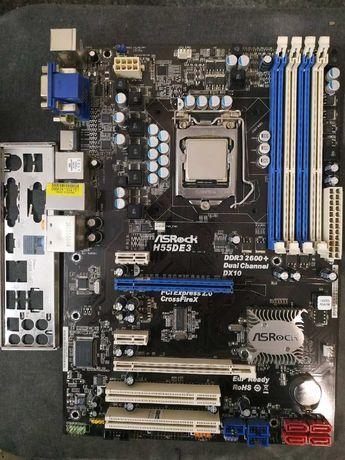 Комплект ASRock H55D3 1156 / intel core i3-530 5500 р.