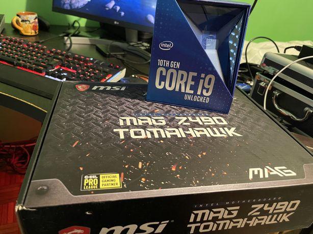 Bundle MSI MAG Z490 Tomahawk + i9 10900K