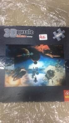 Puzzle 3 D completo