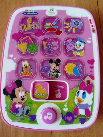 Śliczne zabawki, pluszaki, laptop miki, Fisher Price grzechotki